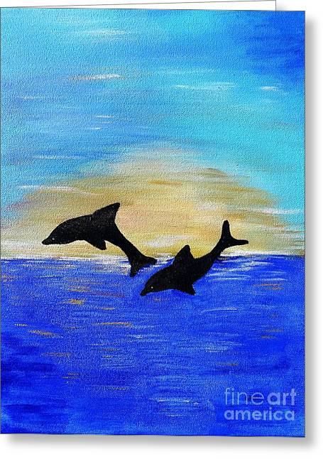 Pairs Greeting Cards - Joyful in Hope Greeting Card by Karen J Jones