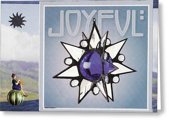 Winter Solstice Greeting Cards Greeting Cards - Joyful Greeting Card by Matthew Hoffman
