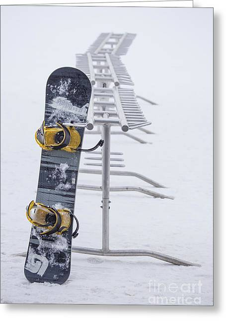 Snowboard Greeting Cards - Joyride Greeting Card by Evelina Kremsdorf