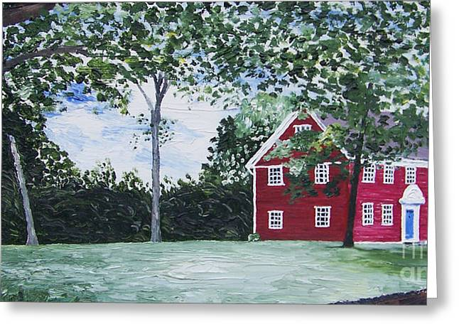 Kevin Croitz Greeting Cards - Judson House Greeting Card by Kevin Croitz