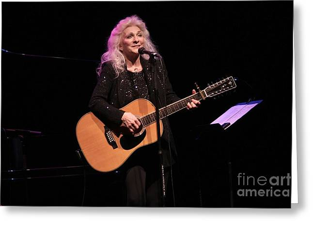 Pop Singer Greeting Cards - Judy Collins Greeting Card by Front Row  Photographs