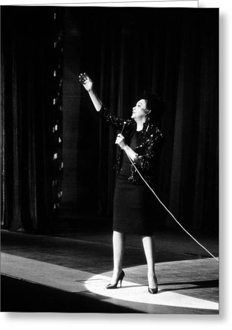 I Greeting Cards - Judy Garland in I Could Go on Singing  Greeting Card by Silver Screen