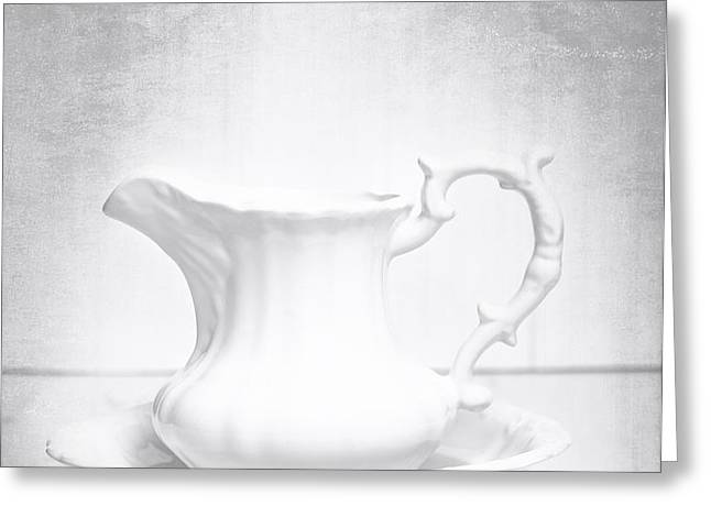 Jug And Bowl Greeting Card by Amanda And Christopher Elwell