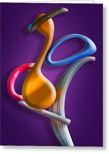 Juggling Greeting Cards - Juggling Act Greeting Card by Paul Wear