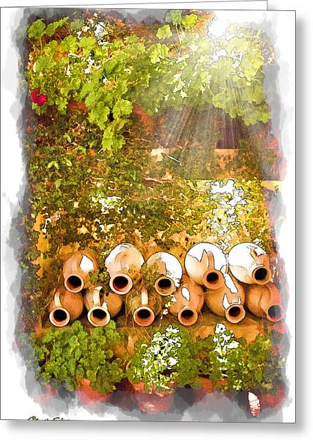 Ladies Of Rodeo Drive Greeting Cards - Jugs Greeting Card by Chuck Staley