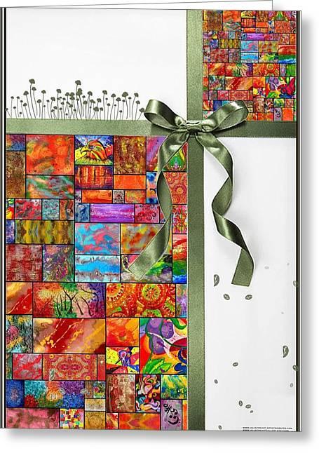 Rainbow Fantasy Art Greeting Card Greeting Cards - Julia Fine Art Greeting Card  Greeting Card by Julia Fine Art And Photography