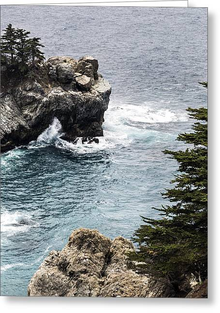 Big Sur Ca Greeting Cards - Julia Pfeiffer Burns Big Sure By Denise Dube Greeting Card by Denise Dube