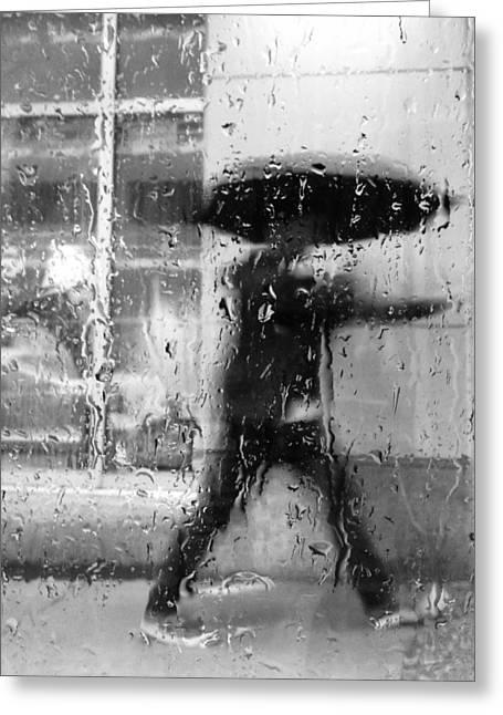 Rain Drop Greeting Cards - Julians Proposal Greeting Card by Jerry Cordeiro
