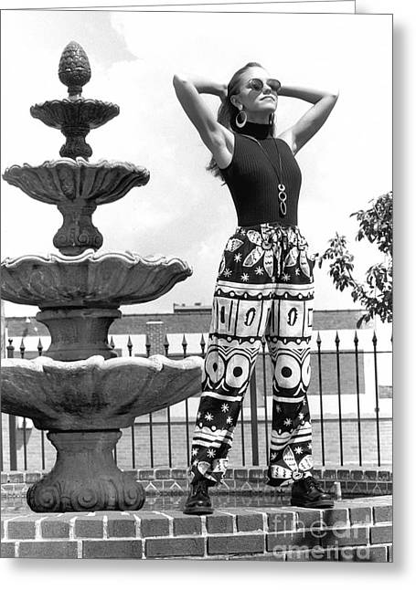 Julieartfountain Greeting Card by Gary Gingrich Galleries