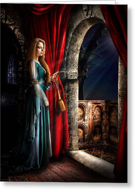 Capulet Greeting Cards - Juliet Greeting Card by Alessandro Della Pietra