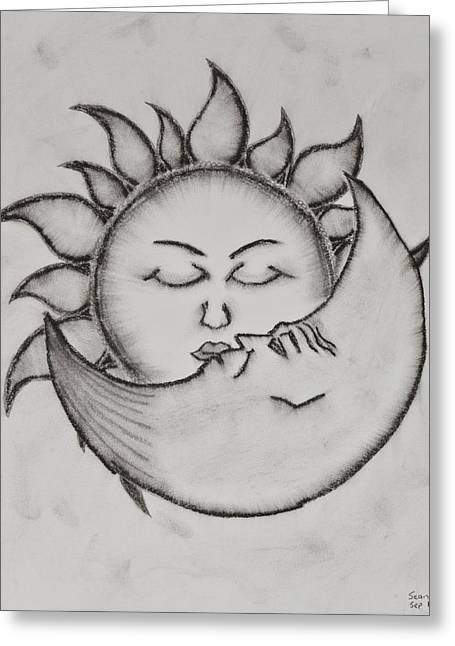 Valentines Day Pastels Greeting Cards - Juliet is the sun Greeting Card by Sean Mitchell