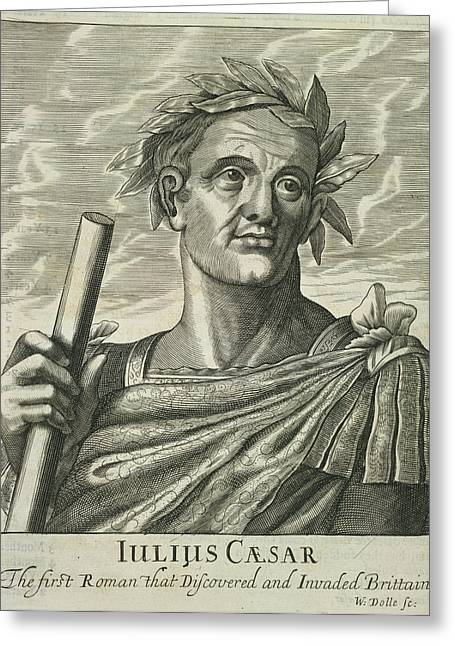 Julius Caesar Greeting Card by British Library