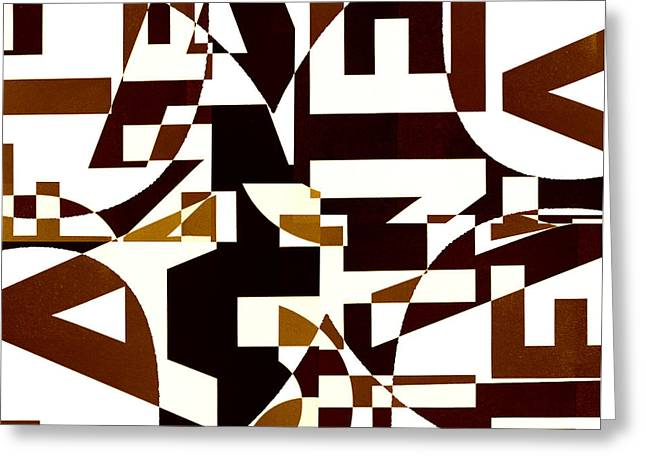 Abstract Digital Digital Art Greeting Cards - Junk Mail 2 Greeting Card by Elena Nosyreva