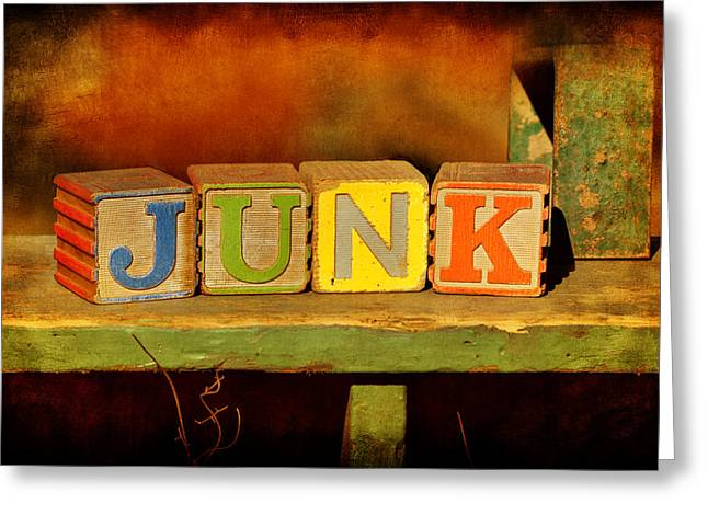 Omaha Nebraska Fashion Greeting Cards - Junk Greeting Card by Nikolyn McDonald