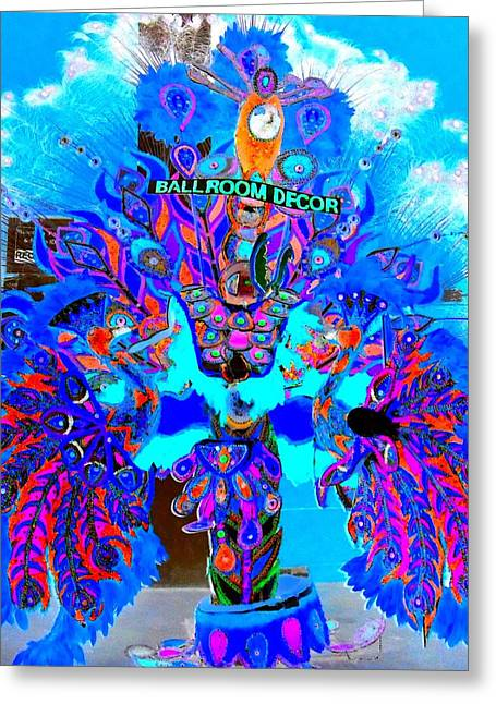 Junkanoo 3 Greeting Card by Ron Kandt