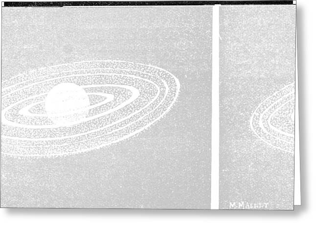 La Science Illustree Greeting Cards - Jupiter and its moons, 1893 Greeting Card by Science Photo Library