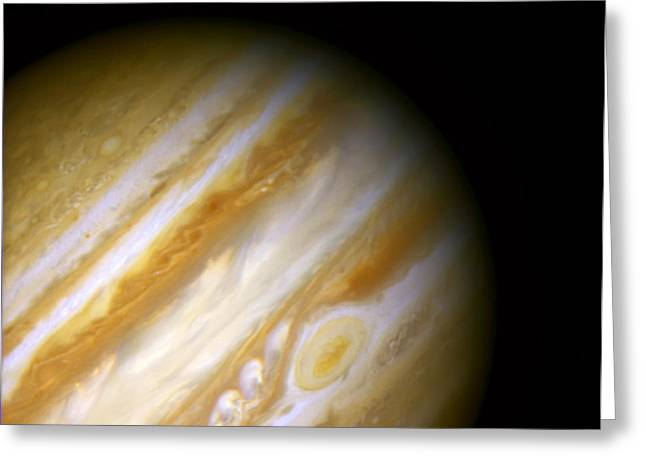 Gazer Greeting Cards - Jupiter and The Great Red Spot Greeting Card by The  Vault - Jennifer Rondinelli Reilly