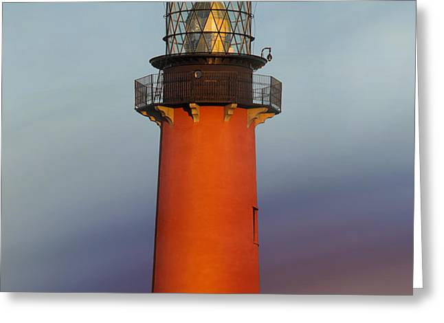 Jupiter Inlet Lighthouse Greeting Card by Dmitry Chernomazov