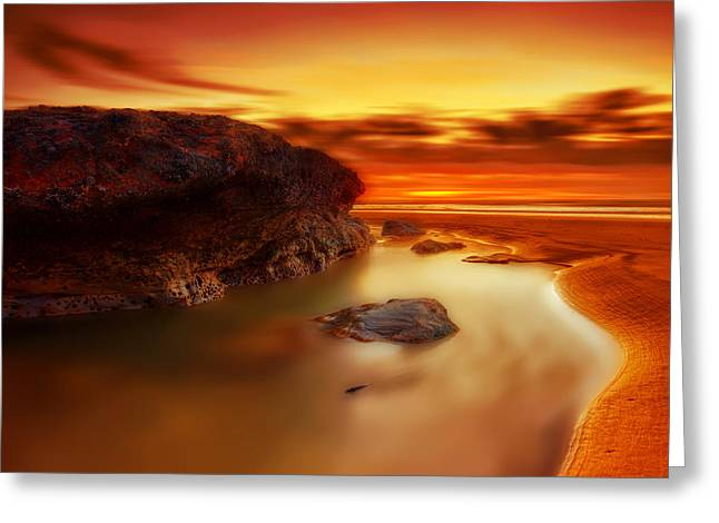Astronomic Greeting Cards - Jupiter Sunrise Greeting Card by Mark Leader
