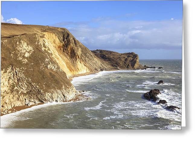 Dorset Greeting Cards - Jurrasic Coast Dorset Greeting Card by Joana Kruse