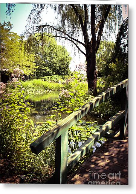 Willow Lake Greeting Cards - Just a Dream Greeting Card by Colleen Kammerer