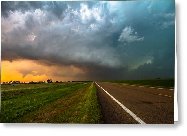 Funnel Clouds Greeting Cards - Just a Dream Greeting Card by Sean Ramsey