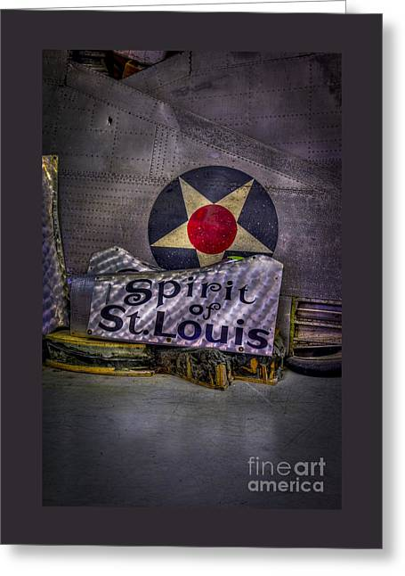 Just A Few Old Parts Greeting Card by Marvin Spates