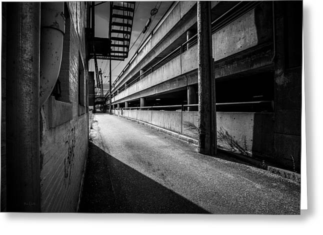 Just Another Side Alley Greeting Card by Bob Orsillo