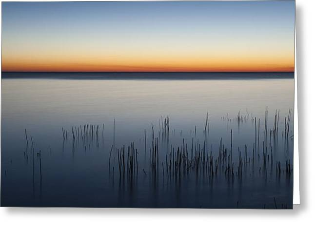 Saturated Greeting Cards - Just Before Dawn Greeting Card by Scott Norris
