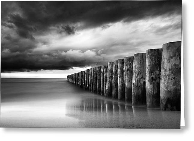 Just Before The Storm Greeting Card by Martin Flis