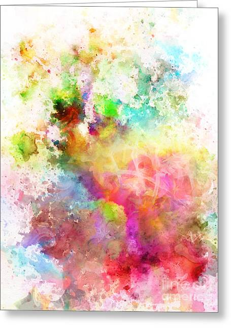 Just Colors 6 Greeting Card by Artwork Studio