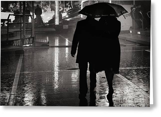 Streetphotography Greeting Cards - Just Do it Greeting Card by Michel Verhoef