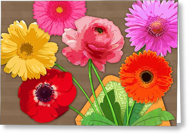 Valerie Drake Lesiak Greeting Cards - Just for You Greeting Card by Valerie   Drake Lesiak