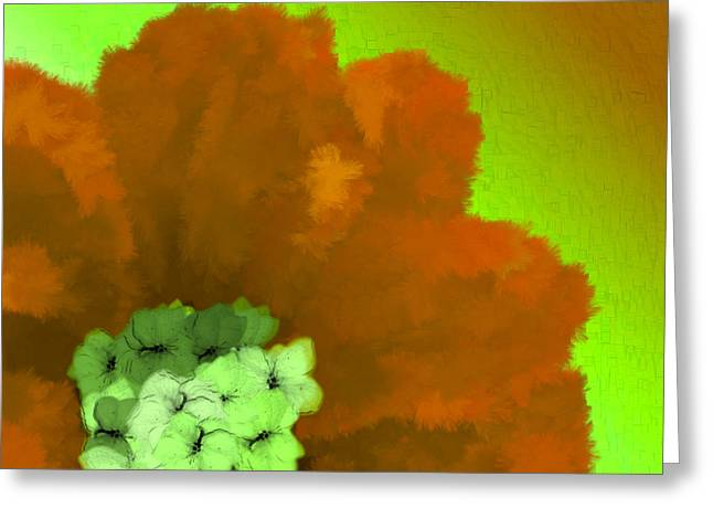 Discrimination Digital Art Greeting Cards - Just Give Me A Reason Green Brown Green Greeting Card by Holley Jacobs