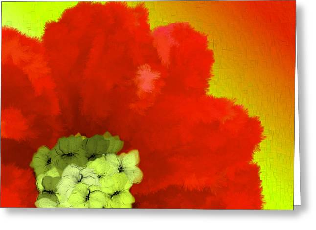 Discrimination Digital Art Greeting Cards - Just Give Me A Reason Green Orange Yellow Greeting Card by Holley Jacobs