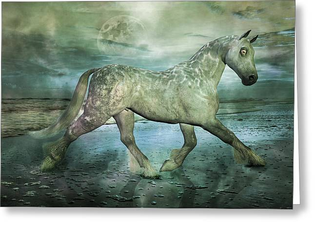 Trot Greeting Cards - Just Like Heaven Greeting Card by Betsy C  Knapp