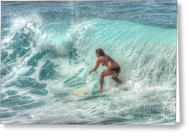 Hawaii Greeting Cards - Just one more Greeting Card by Andy Jackson
