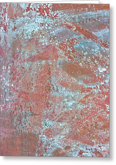 Metal Sheet Greeting Cards - Just Rust Greeting Card by Heidi Smith