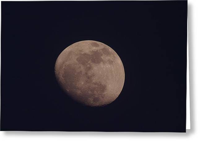 JUST THE MOON Greeting Card by Jeff  Swan