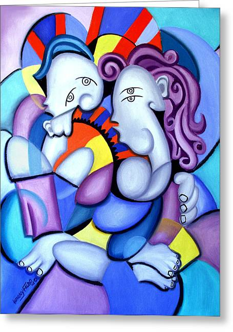 Love Framed Prints Greeting Cards - Just The Two Of Us Greeting Card by Anthony Falbo