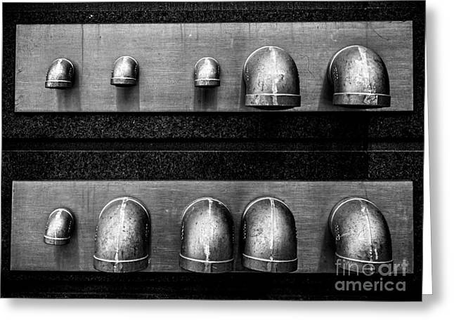 Stainless Steel Greeting Cards - Just Venting Greeting Card by James Aiken