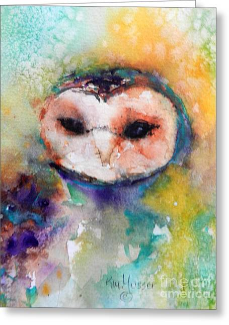 Musser Greeting Cards - Just Watching Greeting Card by Kim Musser