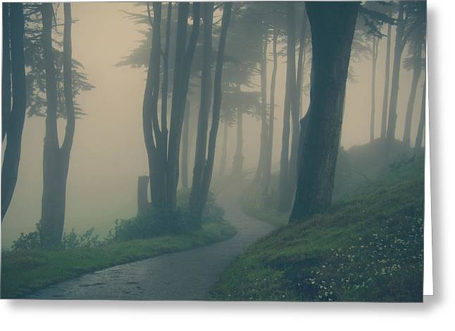 Walking Paths Greeting Cards - Just Whisper Greeting Card by Laurie Search