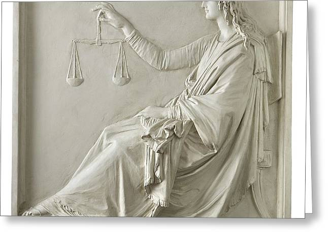 Spur On Greeting Cards - Justice Greeting Card by Fondazione Cariplo