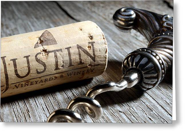 White Grape Greeting Cards - Justin on Silver Oak Greeting Card by Jon Neidert