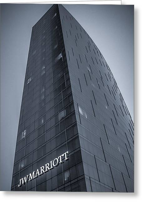 Duo Tone Greeting Cards - JWMarriott Greeting Card by Daniel Cline