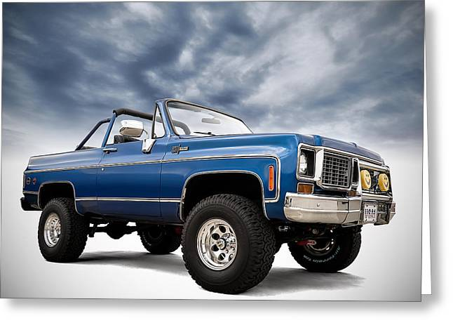 Truck Digital Greeting Cards - K5 Blazer Greeting Card by Douglas Pittman