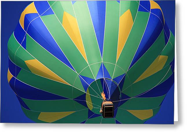 Hot Air Balloon Ride Greeting Cards - Kachina Greeting Card by Donna Kennedy