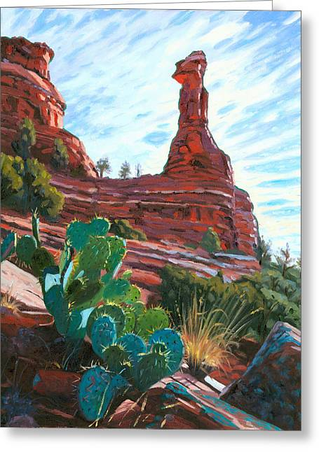 Boynton Greeting Cards - Kachina Woman Greeting Card by Steve Simon