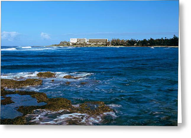 Ocean Photography Greeting Cards - Kahala Resort And Hotel On The Coast Greeting Card by Panoramic Images